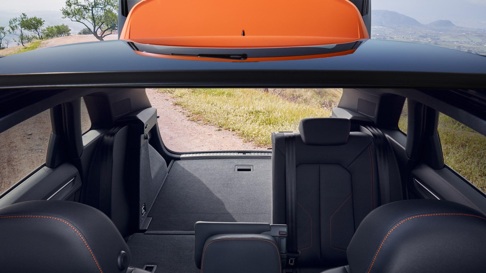 Audi Q3 laadruimte