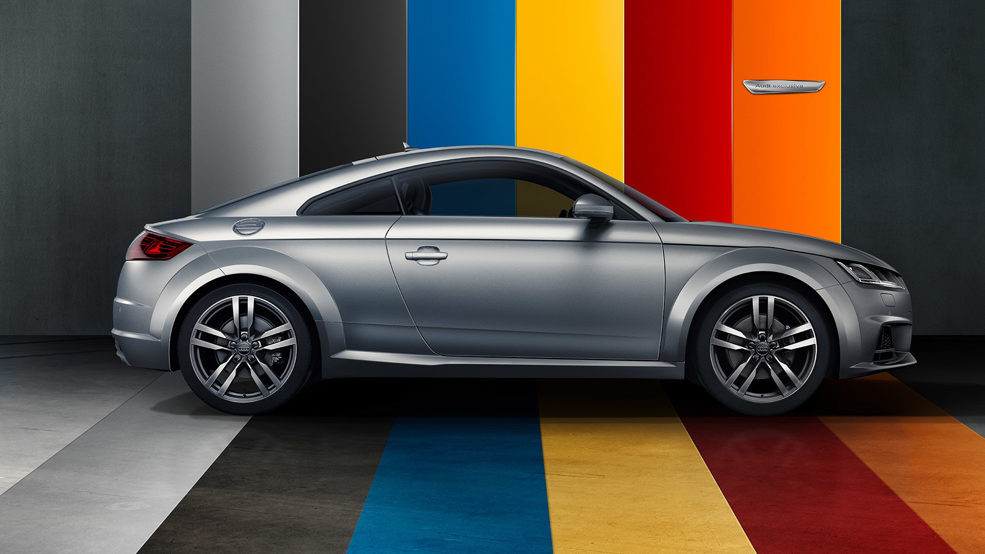 Audi TT verschillende kleuren
