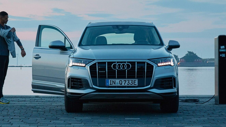 De Audi Q7 TFSI e