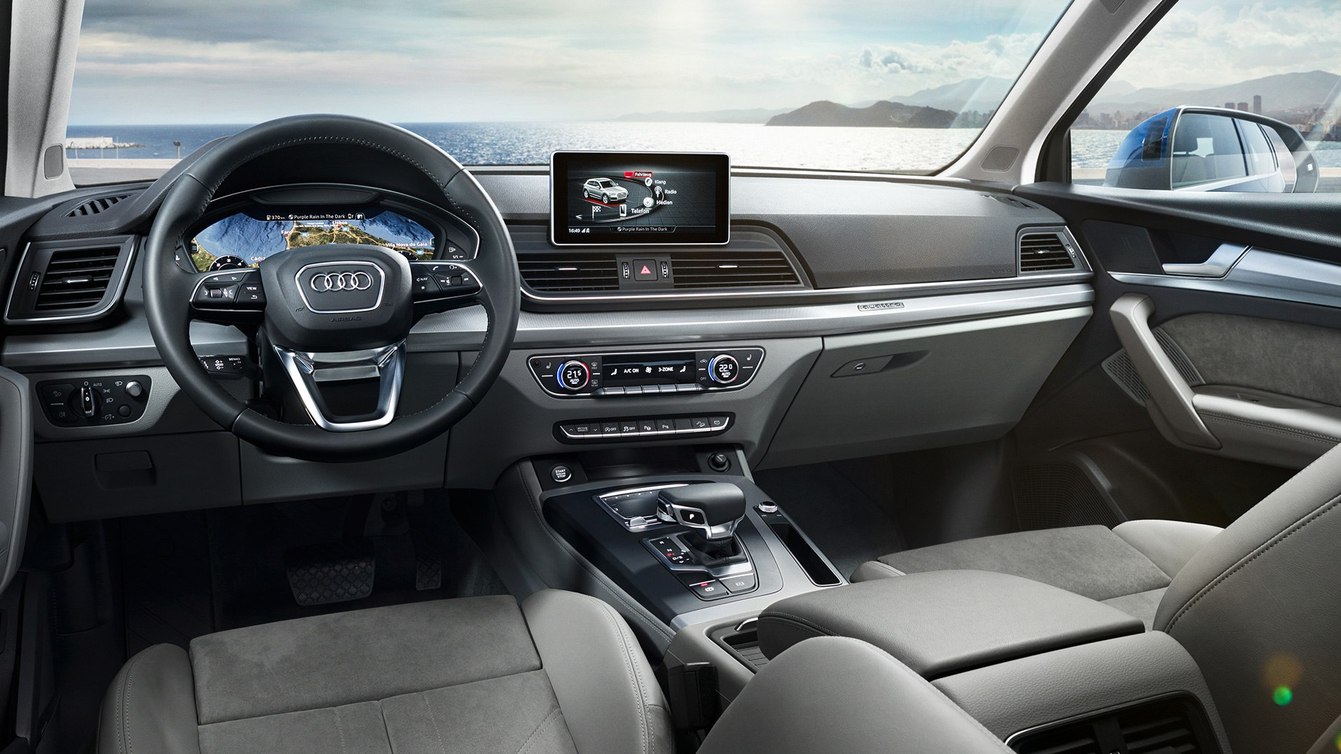 Audi Q5 interieur