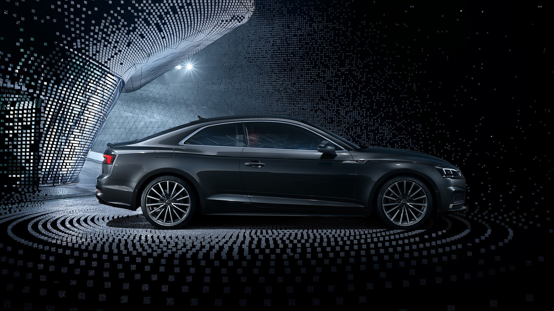 Audi A5 Sideview