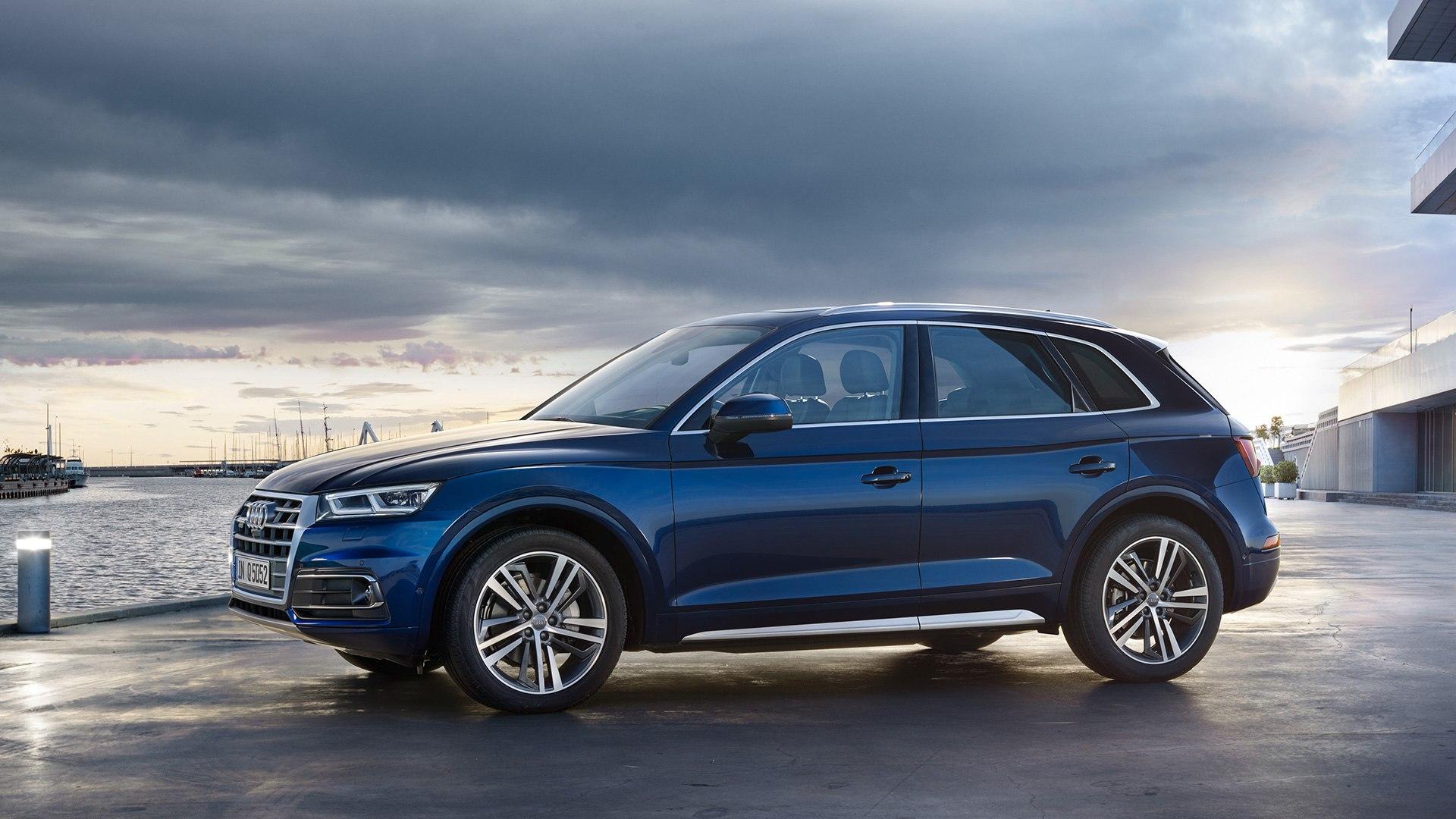 Audi Q5 zijkant 2