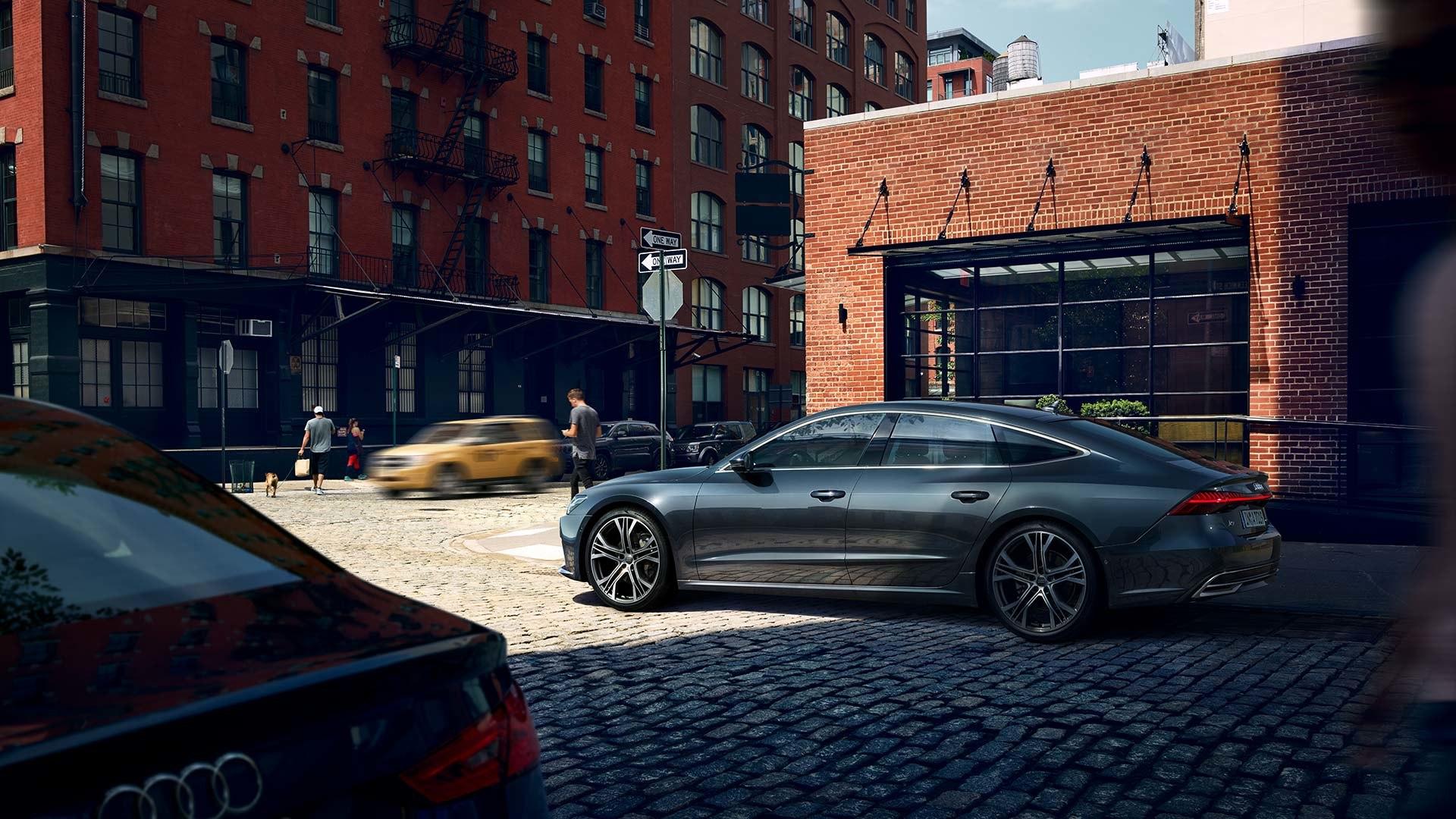 Audi A7 zijkant
