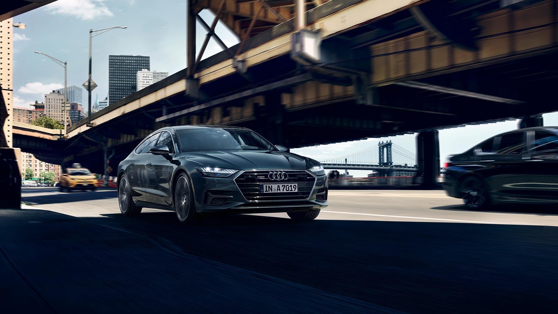 Audi A7 Voorkant 2
