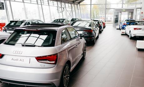 Audi Centrum Breda showroom